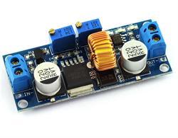 CONVERTIDOR DC-DC Y CORRIENTE AJUSTABLE - ELEVADOR REDUCTOR ENTRADA 4V-38VDC - SALIDA 1,25 V-36 VDC - 5 AMP