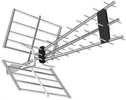ANTENA TDT TM ELECTRON - CANALES 21 A 60 - 17dBs - 111 CM LONGITUD - CON FILTRO LTE