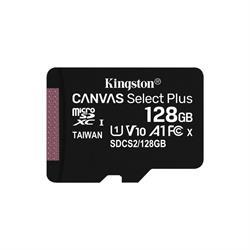 MEMORIA MICRO SD 128GB KINGSTON SDXC CL10 - CANVAS