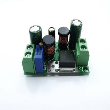 CONVERTIDOR DC-DC AJUSTABLE - ELEVADOR / REDUCTOR ENTRADA 5-32VDC - SALIDA 1.25-45VDC / 4 AMP