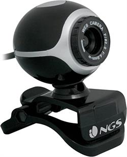 WEBCAM NGS XPRESSCAM300 - 5MP - 640X480 - USB 2.0 - NEGRO