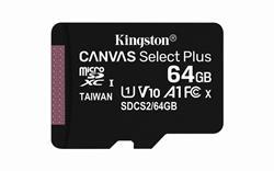 MEMORIA MICRO SD 64GB KINGSTON SDXC CL10 - CANVAS