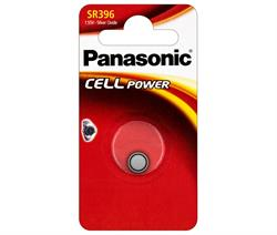 PILA BOTON OXIDO DE PLATA PANASONIC - AG9 G9 LR936 LR45 194 GP94A 394 SR936W SR936SW - 1,55V