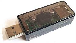 ISOLADOR DE SEÑAL USB - ADUM3160 - HASTA 3000VDC - 53x23x14mm