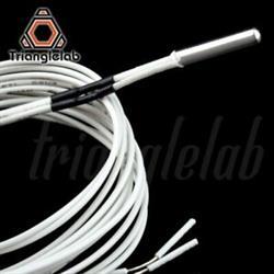SONDA DE TEMPERATURA PT100 - NTC 100K - B3950 - HASTA 280º - PRECISION 1% - CABLE 1 METRO