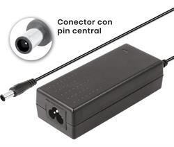 ALIMENTADOR ELECTRONICO NIMO 100-230VCA - SALIDA 19V - 2,1A - 40W - JACK HUECO 6.5x4.4x12mm
