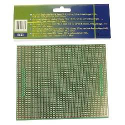 PLACA EUROCARD MODELO CENTRONIX/SUB-D - 100x160mm - FR4 (1 unidad/blister)