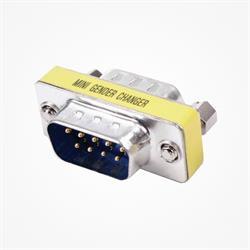 ADAPTADOR SUB-D 9 PIN / RS232 MACHO - SUB-D 9 PIN / RS232 MACHO