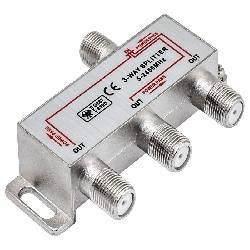 DISTRIBUIDOR / SPLITTER NIMO DE TV 1 ENTRADA - 3 SALIDAS - CONECTORES F
