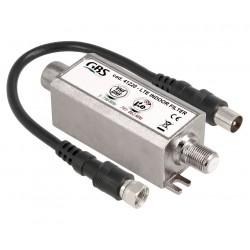 FILTRO LTE 4G - EVITAR INTERFERENCIAS - 791-862Mhz - PASIVO - PARA INTERIOR