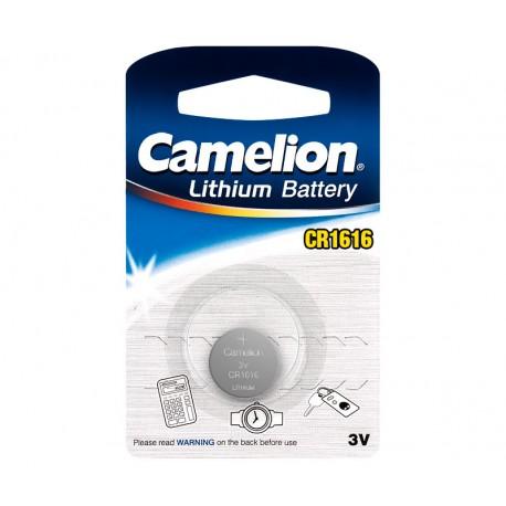PILS LITIO BOTON CAMELION CR1616 3V - 50mAh