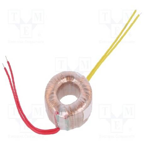 TRANSFORMADOR TOROIDAL 230VCA A 24V - 20VA DIAMETRO 70mm