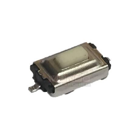 MICRO PULSADOR 2 PIN - 3x6x2.5mm - CITROEN PEUGEOT NISSAN MERCEDES BMW VOLVO ROVER
