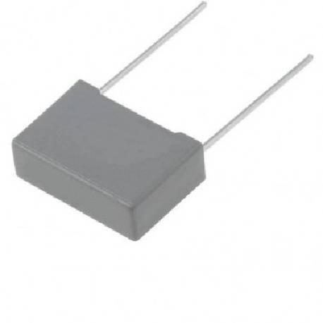 CONDENSADOR POLIPROPILENO WIMA 220NF / 400VDC - RASTER 10mm - PATILLAS 16mm - 12x6x11mm